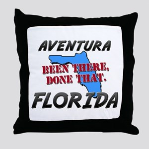 aventura florida - been there, done that Throw Pil
