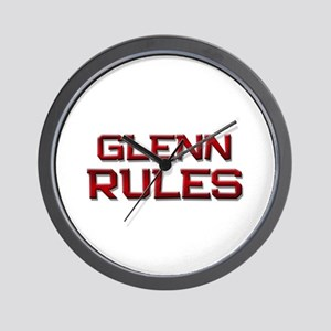 glenn rules Wall Clock