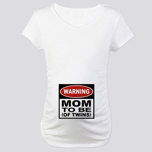 Mom To Be Twins Maternity T-Shirt