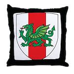 Midrealm Shield Throw Pillow