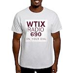 WTIX New Orleans 1968 -  Ash Grey T-Shirt