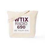 WTIX New Orleans 1968 -  Tote Bag