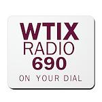 WTIX New Orleans 1968 -  Mousepad