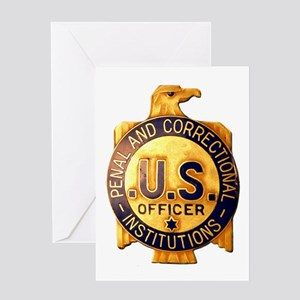 Federal Prison Officer Greeting Card