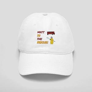 Matt to the Rescue Cap