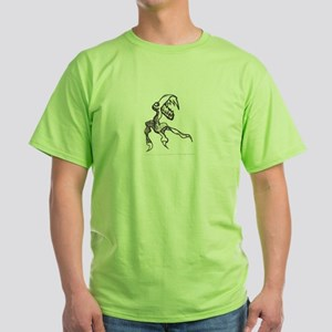 Canadian Baphomet T-Shirt (Green)