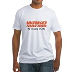 WRKO Boston 1967 -  Fitted T-Shirt