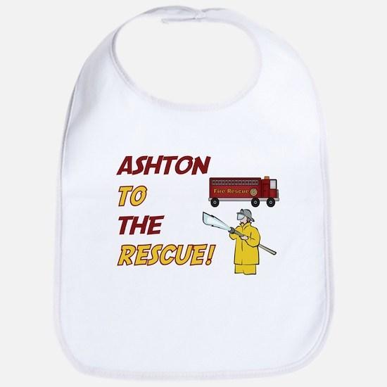 Ashton to the Rescue Bib