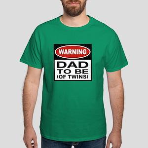 Dad To Be Twins Dark T-Shirt