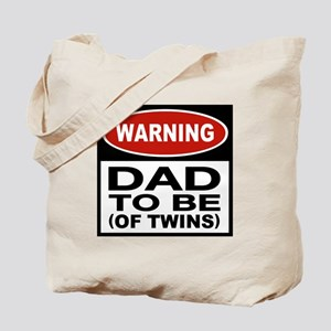 Dad To Be Twins Tote Bag