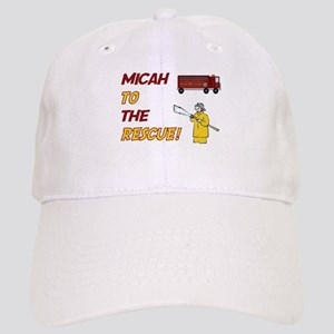 Micah to the Rescue Cap