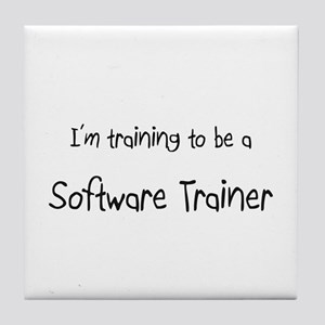 I'm training to be a Software Trainer Tile Coaster