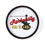Rockabilly Hall of Fame Wall Clock