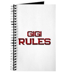 gigi rules Journal