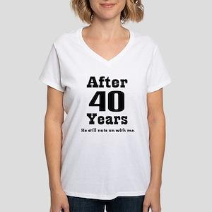 40th Anniversary Funny Ladies T-Shirt