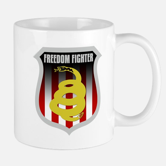 Freedom Fighter Shield Mug
