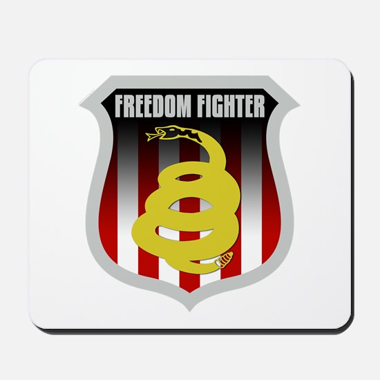 Freedom Fighter Shield Mousepad