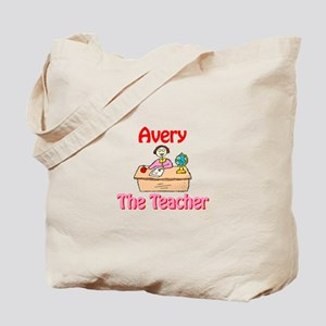 Avery the Teacher Tote Bag