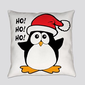 Cute Christmas Penguin Everyday Pillow