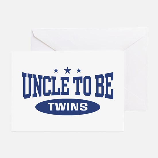 Uncle To Be Twins Greeting Cards (Pk of 10)
