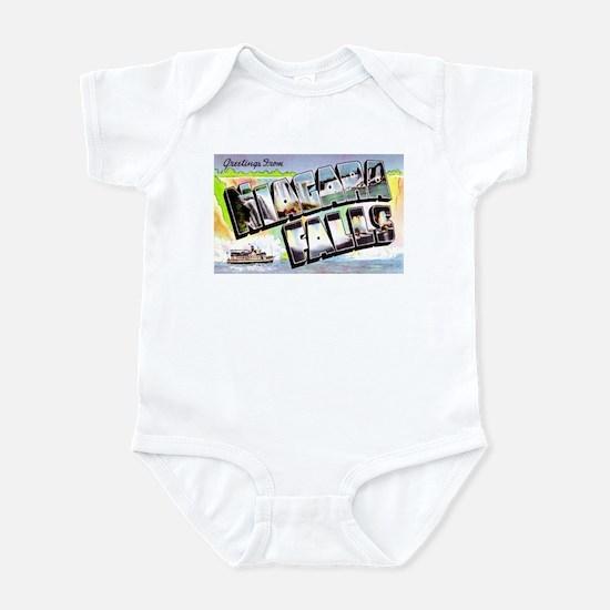 Niagara Falls Greetings Infant Bodysuit