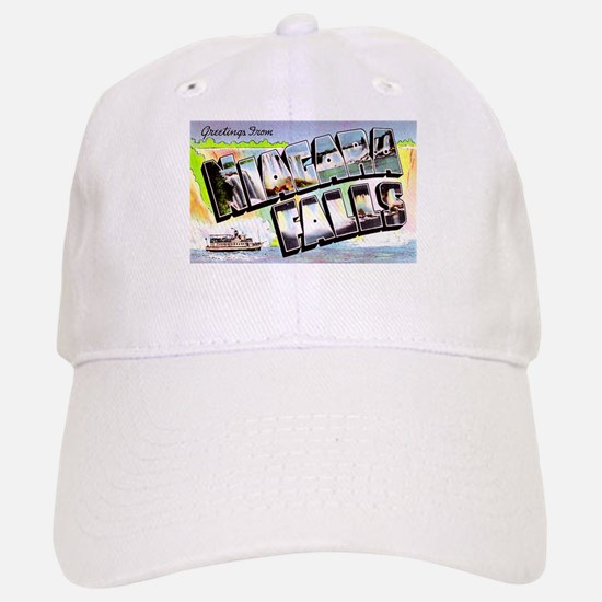 Niagara Falls Greetings Baseball Baseball Cap