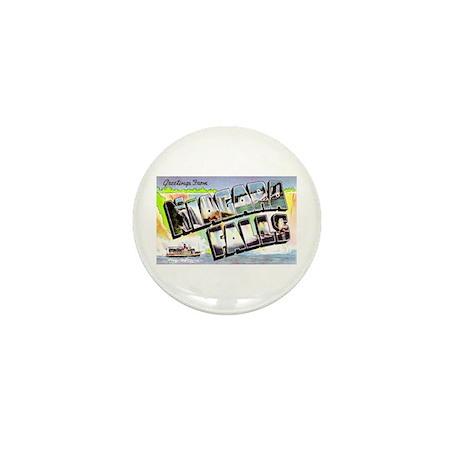 Niagara Falls Greetings Mini Button (10 pack)