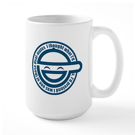 laughing mug