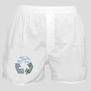 Land, Sea & Sky Boxer Shorts