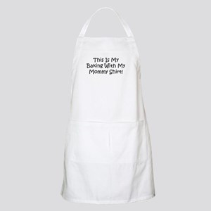 Baking With My Mommy BBQ Apron
