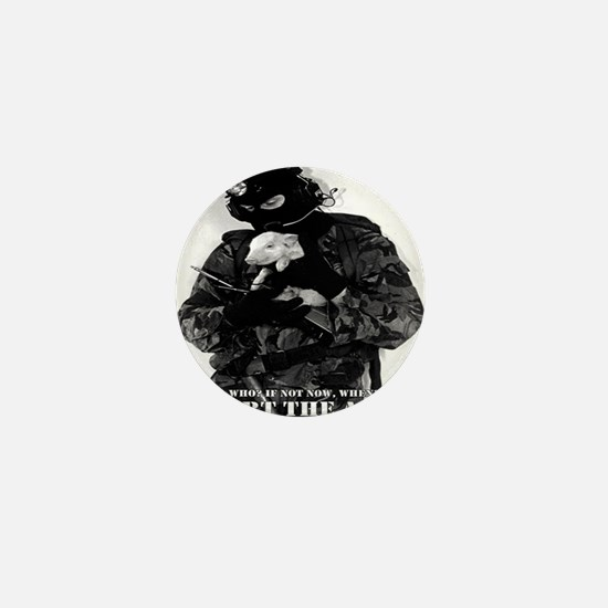 Cool Animal liberation front Mini Button