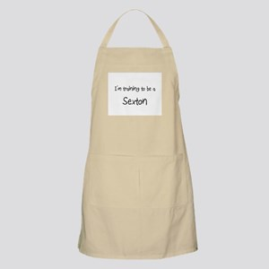I'm training to be a Sexton BBQ Apron