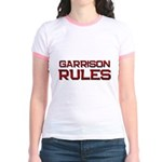garrison rules Jr. Ringer T-Shirt