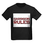 garrison rules Kids Dark T-Shirt