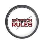 garrison rules Wall Clock