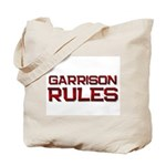 garrison rules Tote Bag