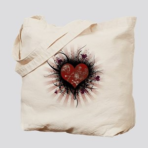 Death Heart Tote Bag