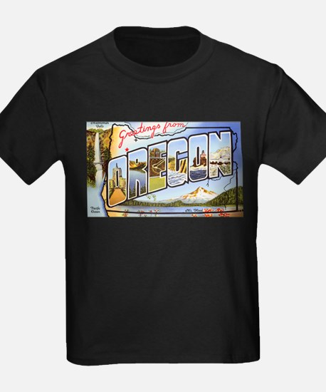 Oregon Greetings Ash Grey T-Shirt