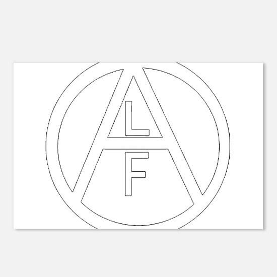 Alf Postcards (Package of 8)