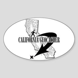 geocaching Oval Sticker
