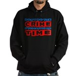Don't Do the Crime Hoodie (dark)