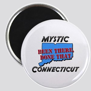 mystic connecticut - been there, done that Magnet