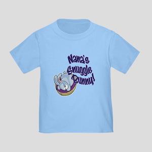 NANA'S SNUGGLE BUNNY! Toddler T-Shirt