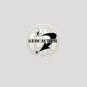 Global Geocaching Mini Button