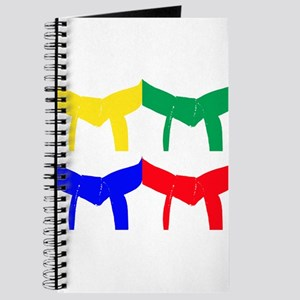 Martial Arts Colored Belts Journal