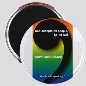 """WeWelcomeAll.org 2.25"""" Magnet (10 pack)"""