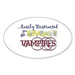 Distracted By Sparkly Vampires Bumper Stickers