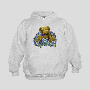 Bluebonnet Bear Kids Hoodie