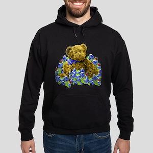 Bluebonnet Bear Hoodie (dark)