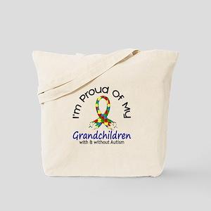 Proud Of My Autistic Grandchildren 1 Tote Bag